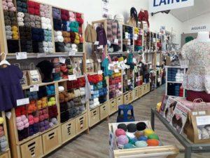 1 - Laine et fils à tricoter
