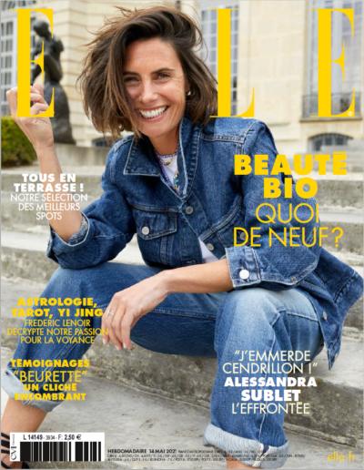 Couverture Magazine ELLE